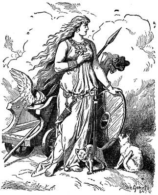 Freyja - The Norse Goddess of Love